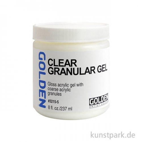 GOLDEN Gel 236 ml - 3215 Klares Granulat Gel (Clear Granular Gel)