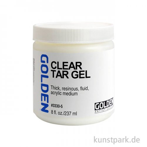 GOLDEN Gel 236 ml - 3330 Fadengel (Clear Tar Gel)