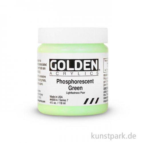 GOLDEN Phosphoreszentfarbe, 119 ml