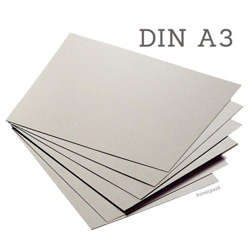 Graukarton A3, Packung