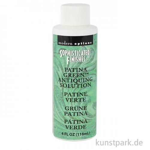Patinierung - Grüne Patina