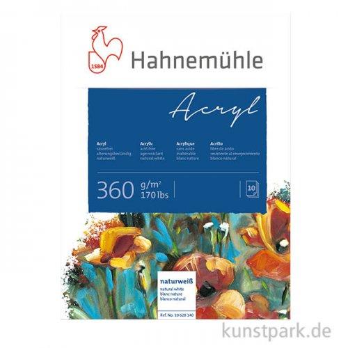 Hahnemühle ACRYL Malkarton, 10 Blatt, 360g