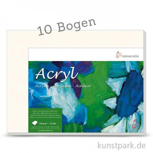 Hahnemühle ACRYL Malpapier, 10 Bogen, 330g, 50 x 65 cm