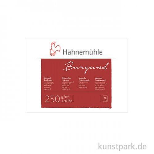 Hahnemühle Aquarell-Postkartenblock, 20 Blatt, 250g rau DIN A6