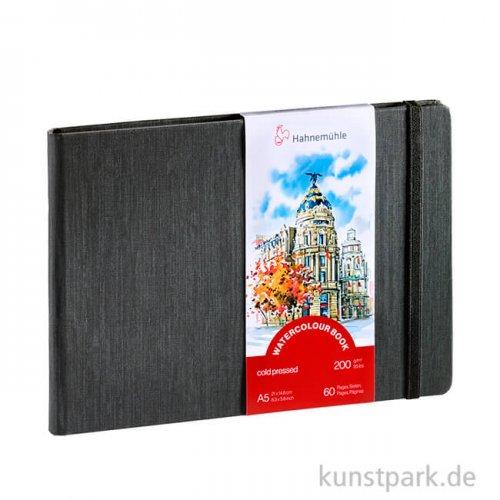 Hahnemühle Watercolour Book, 30 Blatt, 200g DIN A5 (quer)