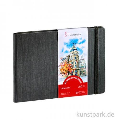 Hahnemühle Watercolour Book, 30 Blatt, 200g DIN A6 (quer)