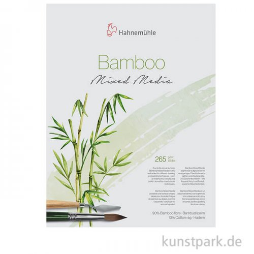 Hahnemühle BAMBOO-Mixed-Media - 10 Bogen, 265g, 50 x 65 cm