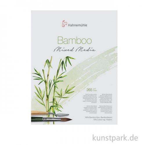 Hahnemühle BAMBOO-Mixed-Media, 265g 24 x 32 cm (25 Blatt)