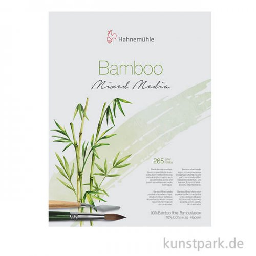 Hahnemühle BAMBOO-Mixed-Media, 265g 36 x 48 cm (25 Blatt)