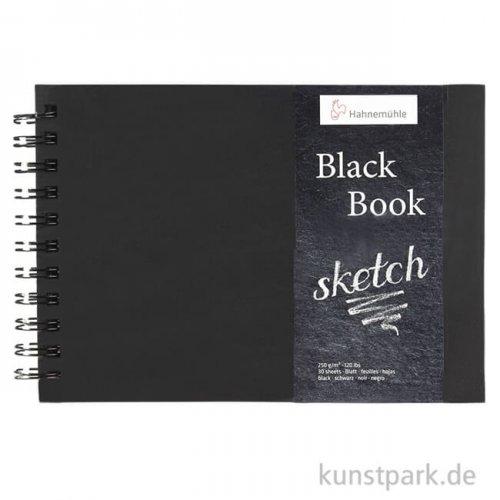 Hahnemühle BLACKBOOK, 30 Blatt, 250g, schwarzes Inhaltspapier