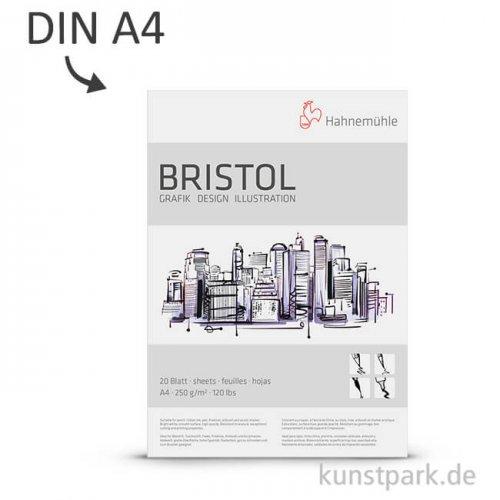 Hahnemühle BRISTOL Grafik & Design, 250 g, 20 Blatt DIN A4