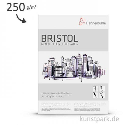 Hahnemühle BRISTOL Grafik & Design, 250 g, 20 Blatt