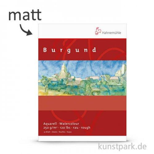 Hahnemühle BURGUND Aquarellpapier, Einzelbogen, 250g matt