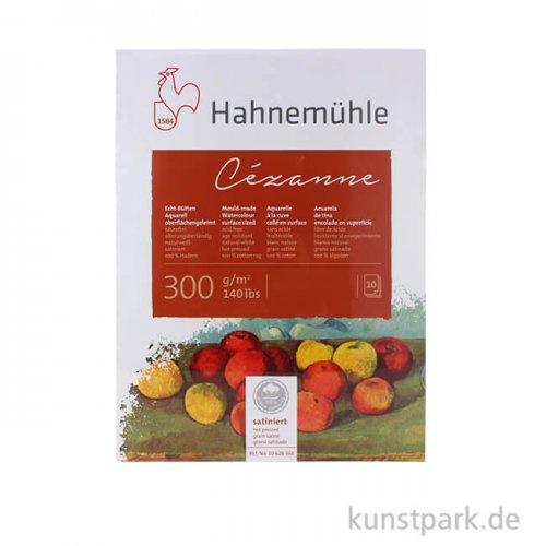 Hahnemühle CÉZANNE Aquarellblock, 10 Blatt, 300g satiniert 24 x 32 cm