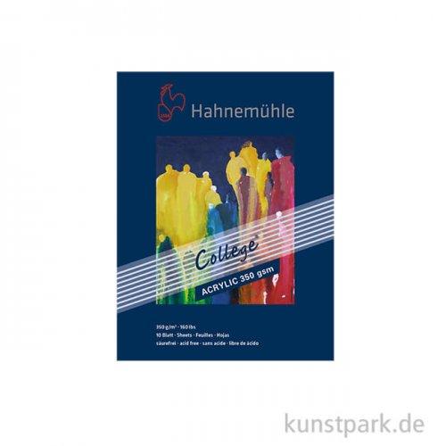 Hahnemühle COLLEGE Acrylblock, 10 Blatt, 350g 30 x 40 cm