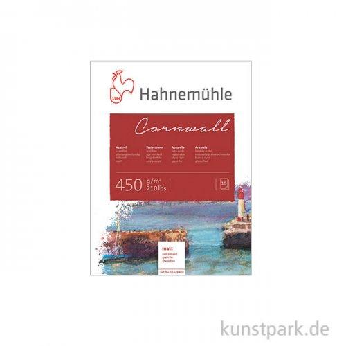 Hahnemühle CORNWALL Aquarellblock, 10 Blatt, 450g matt 17 x 24 cm