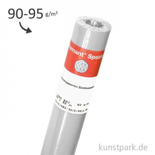 Hahnemühle DIAMANT Transparentpapier, 90/95g, Rolle