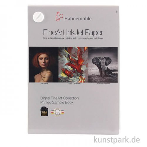 Hahnemühle Digital FineArt Bedrucktes Musterbuch, DIN A6