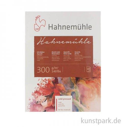 Hahnemühle Echt Bütten Aquarellpapier, 10 Blatt, 300g matt 24 x 32 cm