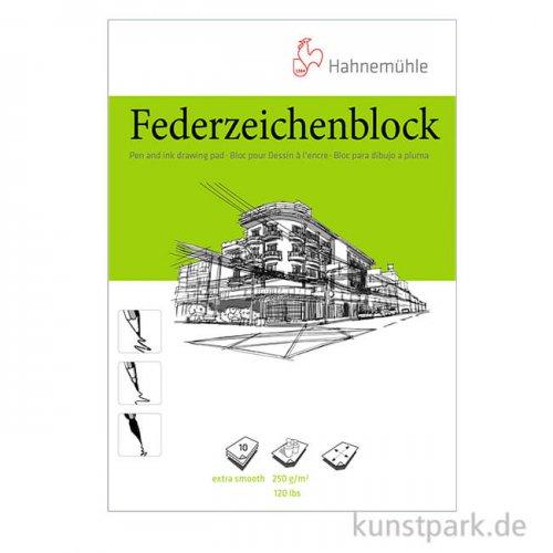 Hahnemühle Federzeichenblock, 10 Blatt, 250g