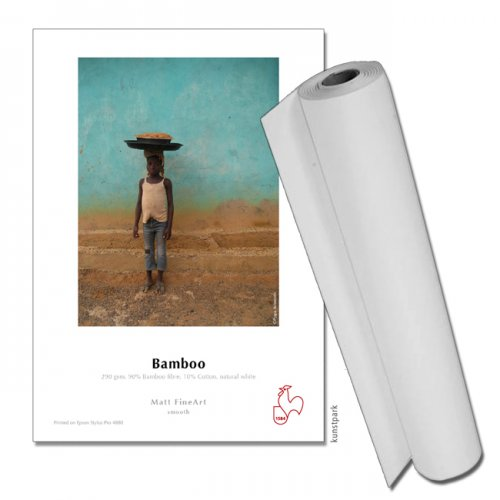 Hahnemühle BAMBOO FineArt Papier, 290g/m², 12m Rolle