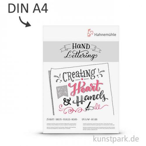 Hahnemühle HANDLETTERING Block, 25 Blatt, 170g DIN A4