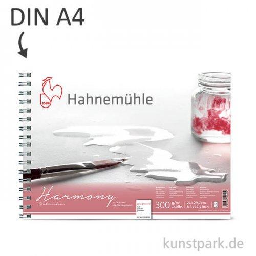 Hahnemühle HARMONY Aquarell Papier Spiralblock, 12 Blatt, 300g - matt DIN A4