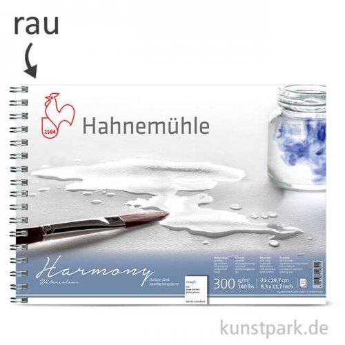 Hahnemühle HARMONY Aquarell Papier Spiralblock, 12 Blatt, 300g - rau