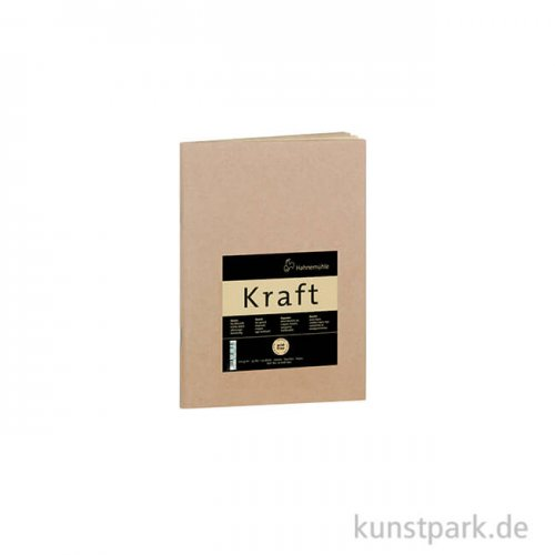 Hahnemühle KRAFTPAPIER Skizzenheft, 20 Blatt, 120g DIN A5