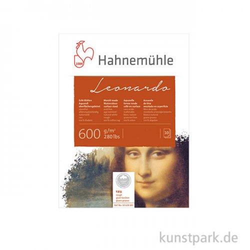 Hahnemühle LEONARDO - 10 Blatt, 600g rau 30 x 40 cm