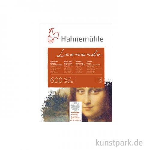 Hahnemühle LEONARDO - 10 Blatt, 600g satiniert 30 x 40 cm