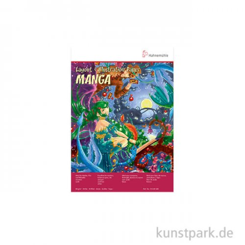 Hahnemühle MANGA Layout & Illustration, 40 Blatt, 80g DIN A4