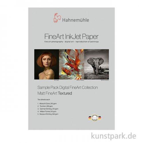 Hahnemühle Matt FineArt Textured - SamplePack DIN A4, 14 Blatt