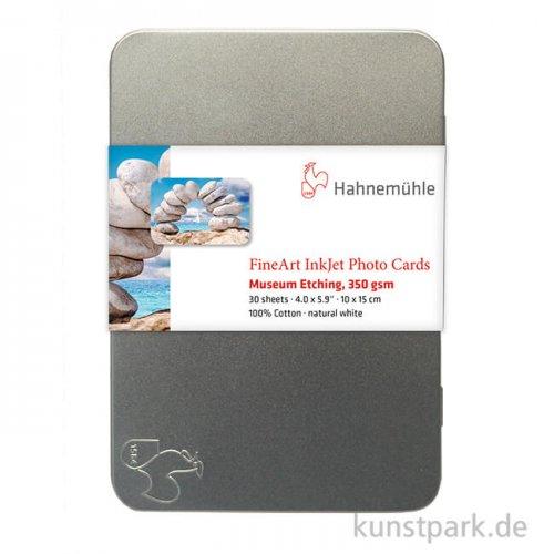 Hahnemühle Museum Etching Fotokarten 10x15cm, 30 Blatt, 350g