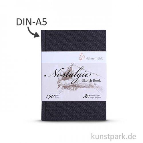 Hahnemühle NOSTALGIE Skizzenbuch, 40 Blatt, 190g DIN A5 (hoch)