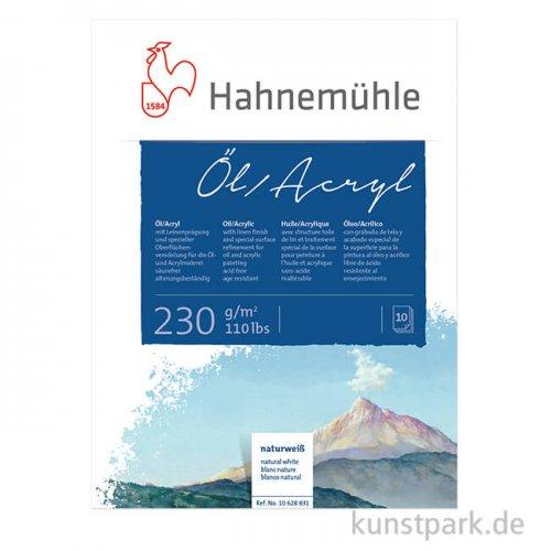 Hahnemühle Öl- und Acryl Malblock, 10 Blatt, 230g
