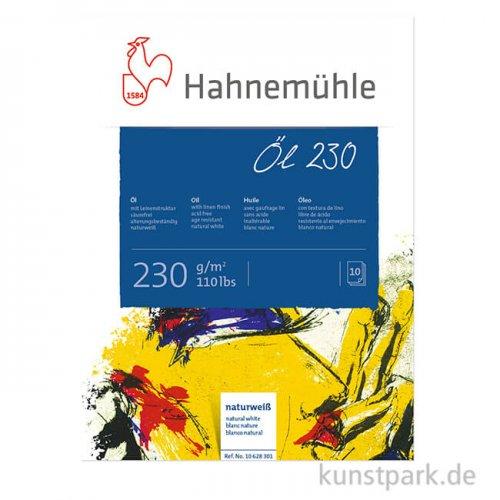 Hahnemühle Öl- und Acryl Malkarton, 10 Blatt, 230g, Leinenprägung