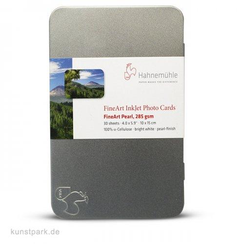 Hahnemühle PEARL FineArt Fotokarten 10x15cm, 30 Blatt, 285g