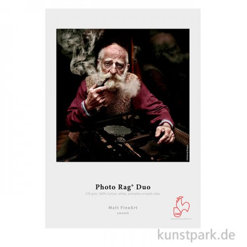 Hahnemühle Photo Rag Duo, 276 g/m², 25 Blatt