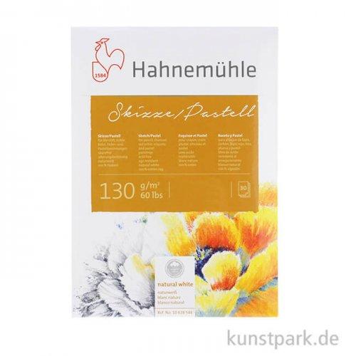 Hahnemühle SKIZZE / PASTELL, 30 Blatt, 130g, 100% Hadern DIN A4