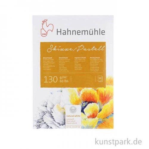 Hahnemühle SKIZZE / PASTELL, 30 Blatt, 130g, 100% Hadern DIN A5
