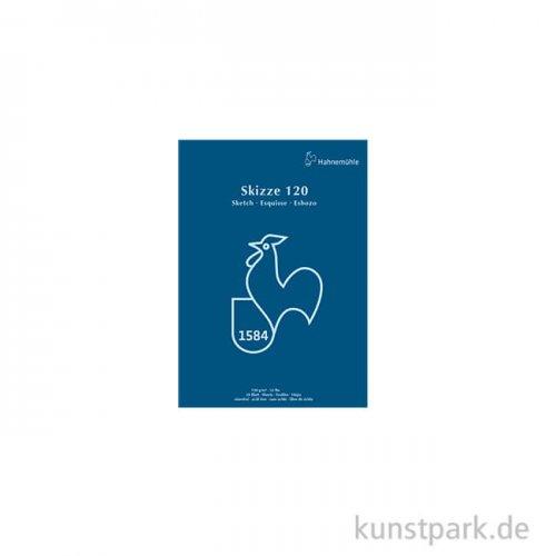 Hahnemühle SKIZZE 120, Skizzenblock, 50 Blatt DIN A5