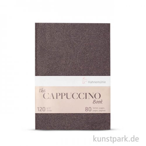 Hahnemühle - The Cappuccino Book, 120g, 40 Blatt DIN A5