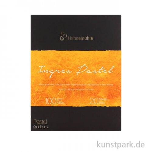 Hahnemühle The Collection Ingres Pastel 9 Farben 20 Blatt 100g 24 x 31 cm