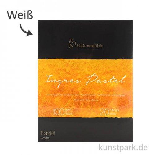 Hahnemühle The Collection Ingres Pastel Weiss 20 Blatt 100g