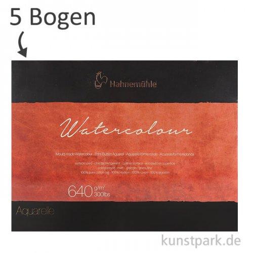 Hahnemühle The Collection Watercolour 640g 5 Einzelbogen