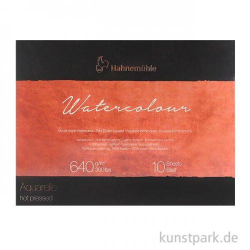 Hahnemühle The Collection Watercolour satiniert 10 Blatt 640g 30x40 cm