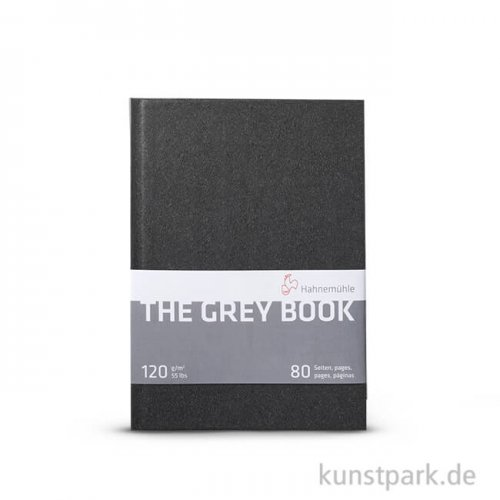 Hahnemühle The Grey Book, 120 g, 40 Blatt DIN A5