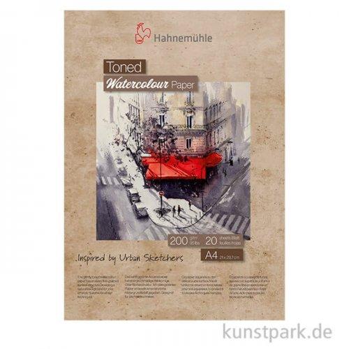 Hahnemühle Toned Watercolour Block Beige, 20 Blatt, 200g