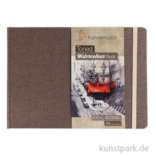 Hahnemühle Toned Watercolour Book Beige, 30 Blatt, 200g DIN A5